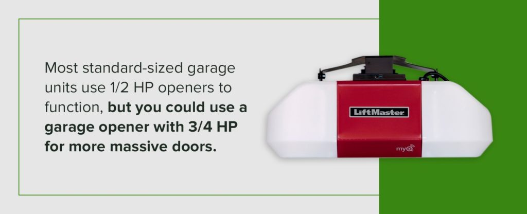 Garage Door Opener Horsepower